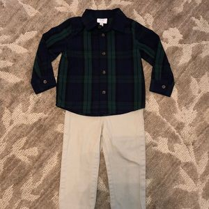 Crown & Ivy boys outfit